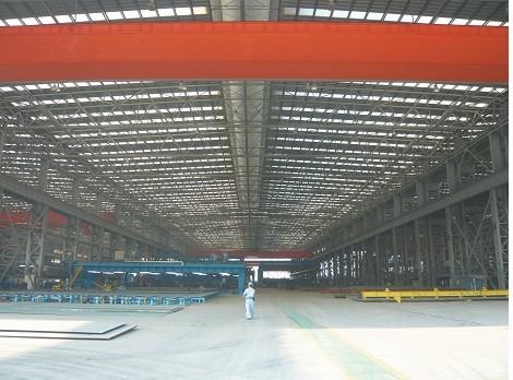 中船龍穴造船基地民船項目鋼材預處理工場、切割加工場等廠房建設工程(第1標段)