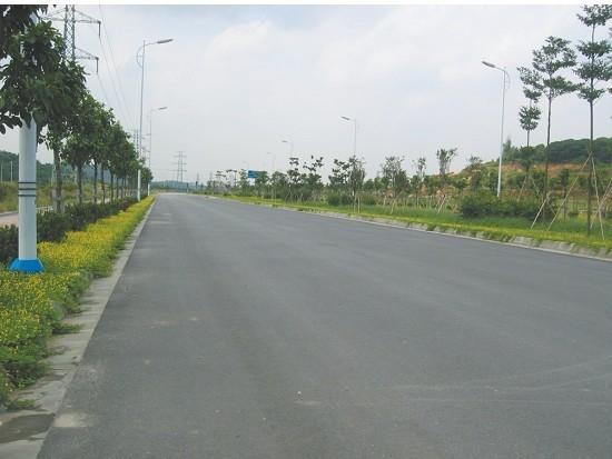 廣州科學城豐樂路道路、排水、供水工程
